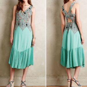 Anthropologie Maeve Canyon Creek Midi Dress 0P